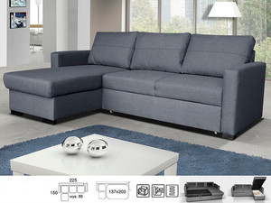 Stūra dīvāns Grand P/L