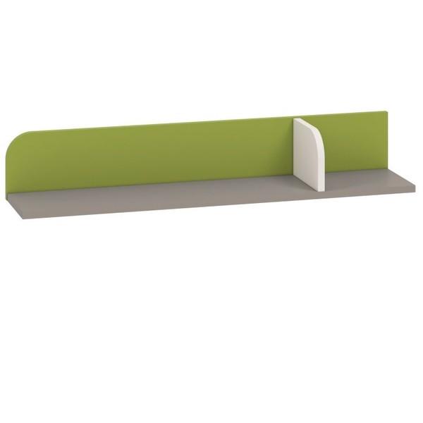 Korpuss: Pelēks. Fasāde: Balts / Zaļš