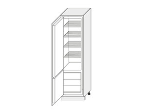 Skapis iebūvējamajam ledusskapim Bari D14DL/60/2017
