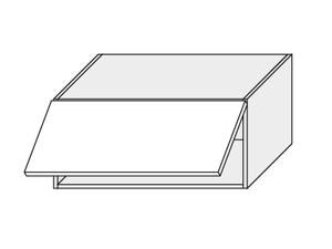 Augšējais skapītis Dust grey W4B/80 Aventos