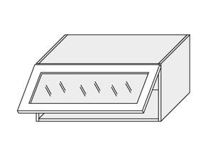 Augšējais skapītis Dust grey W4BS/90 WKF Aventos