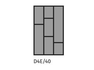 Galda piederumu turētājs ST D4E/40
