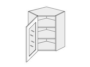 Augšējais stūra skapītis Amaro W10S/60
