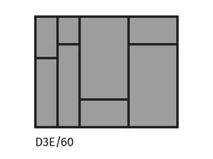 Galda piederumu turētājs ST D3E/60