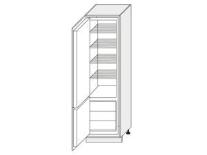 Skapis iebūvējamajam ledusskapim Napoli D14/DL/60/207 L