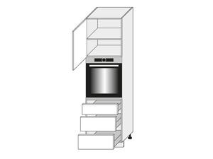 Virtuves skapis Amaro D14/RU/3M