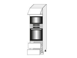 Virtuves skapis Amaro D14/RU/2E 284