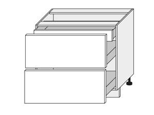 Apakšējais skapītis White mat D2E/90/1E