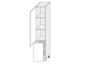 Virtuves skapītis Malmo 2D/14K/40+cargo