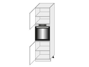 Virtuves skapis Graphite D14/RU/2D