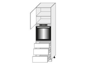 Virtuves skapis Mint D14/RU/3M