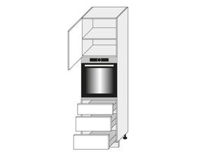 Virtuves skapis Graphite D14/RU/3E