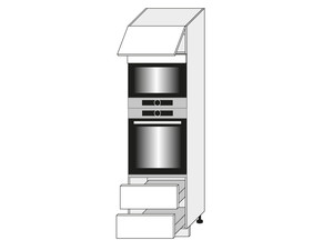 Virtuves skapis Mint D14/RU/2E 284