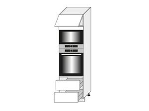 Skapis cepeškrāsnij un mikroviļņu krāsnij Vanillia mat D14/RU/2E 284