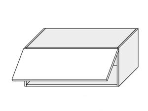 Augšējais skapītis White mat W4B/90 AVENTOS