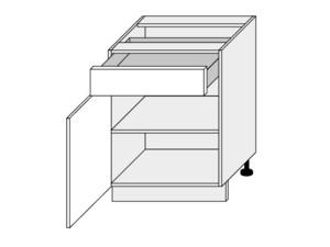 Apakšējais skapītis Silver Duo D1 SE/60