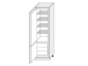 Skapis iebūvējamajam ledusskapim Silver Duo DEPL/60