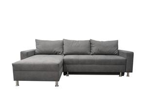 Stūra dīvāns izvelkams ID-19353