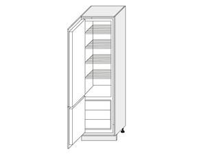 Skapis iebūvējamajam ledusskapim Rimini D14/DL/60/207