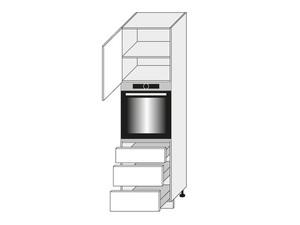 Virtuves skapis White D14/RU/3M