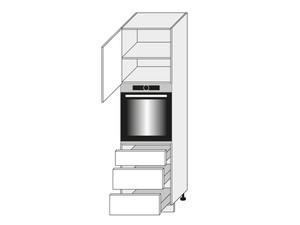 Virtuves skapis White D14/RU/3E