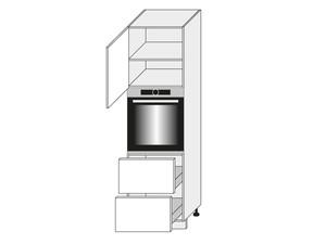 Virtuves skapis White D14/RU/2E 356