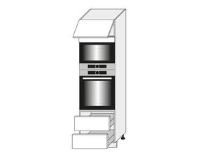 Virtuves skapis White D14/RU/2E 284