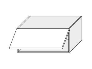 Augšējais skapītis Grey Stone W4B/90 Aventos