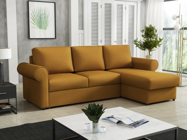 Stūra dīvāns izvelkams Alfa