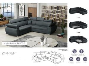 Stūra dīvāns izvelkams Aston 2r+R+2p
