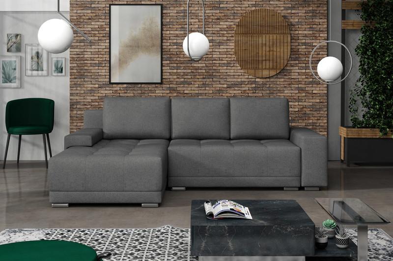 Stūra dīvāns izvelkams Lugano