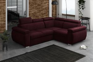 Stūra dīvāns izvelkams Aston 2r+R+1p(80)