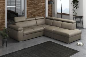 Stūra dīvāns izvelkams Aston 2r+R+1p(65)+LXp