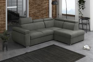 Stūra dīvāns izvelkams Aston 2r+R+LXp