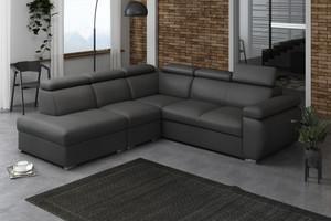 Stūra dīvāns izvelkams Aston LXp+1p(65)+R+2r