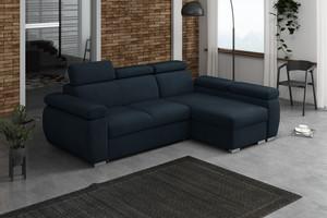 Stūra dīvāns izvelkams Aston 2r+LCp