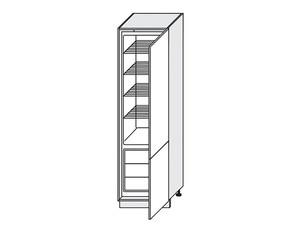 Skapis iebūvējamajam ledusskapim Carrini D14/DP/60/207 P