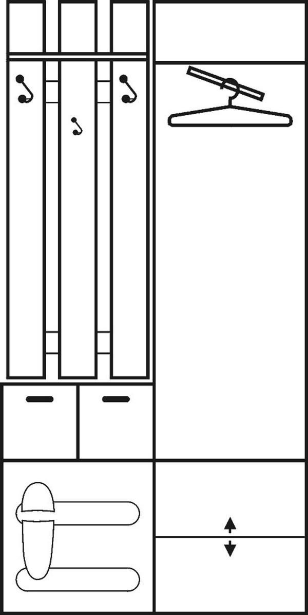 Priekšnama iekārta ar spoguli ID-2826