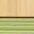 Korpuss: Ķirsis cornvall. Fasāde: Ķirsis cornvall / Zaļā varavīksne