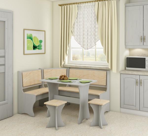 Virtuves stūra komplekts ID-6616