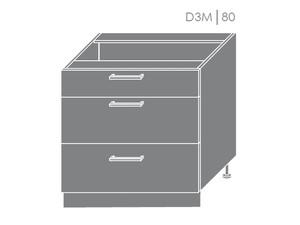 Apakšējais skapītis Violet D3M/80