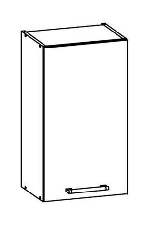 Augšējais skapītis MODENA MD3/G40 tafla
