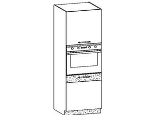 Virtuves skapis MODENA MD29/D60P tafla