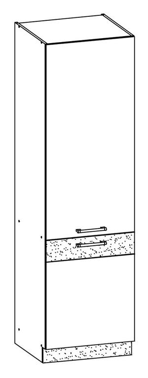 Virtuves skapis ar plauktiem MODENA MD22/D60C MDF