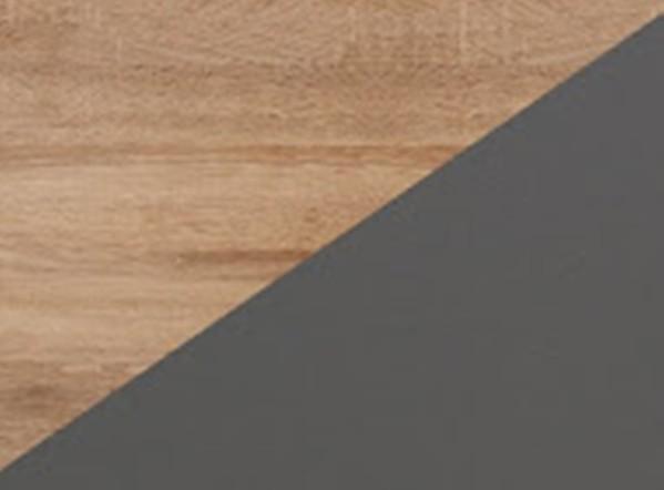 Korpuss: Sonoma gaišs. Fasāde: Sonoma gaišs / Grafīts