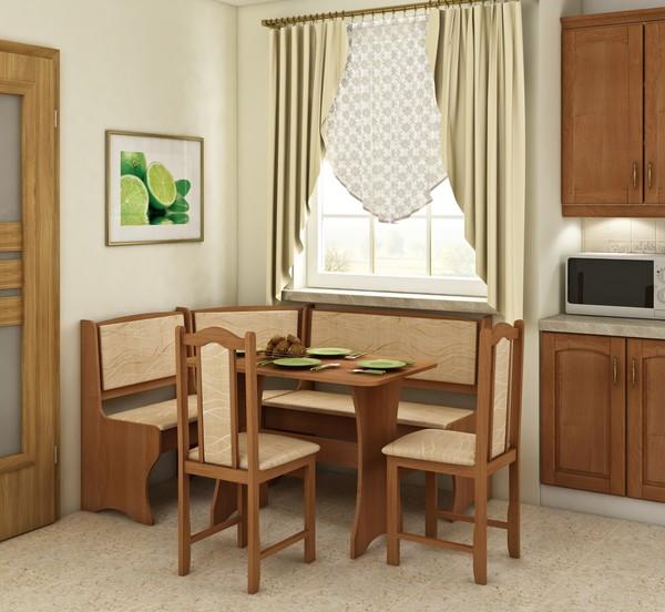 Virtuves stūra komplekts ID-8067