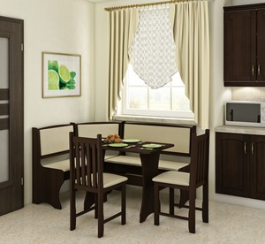 Virtuves stūra komplekts ID-8068