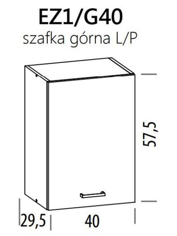 Augšējais skapītis ELIZA EZ1/G40