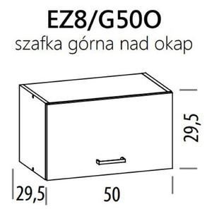 Augšējais skapītis ELIZA EZ8/G50o