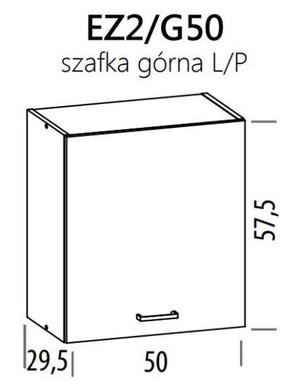 Augšējais skapītis ELIZA EZ2/G50